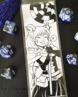 Critical Role Bookmark: Jester (Again) by callyanncreates