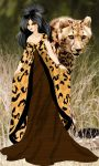 Queen Cheetah Africa finished by KellyVenus