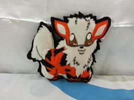 Handmade Anime Pokemon Arcanine Plush Pillow by RbitencourtUSA