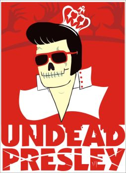 Undead Presley by lucasdausacker
