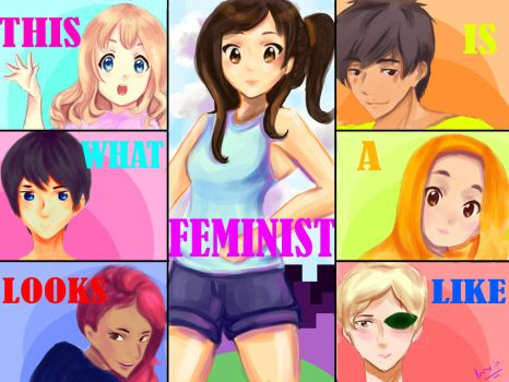 What a Feminist Looks Like by Bansini