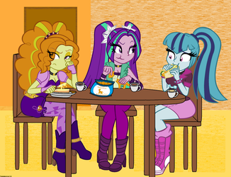 The Dazzlings /SORRY GUYS! by StrawberryCat14