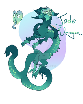 Jade Dragon (CLOSED) by SP01CE