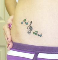 music notes by BanFear