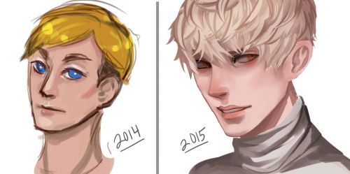 Art improvement! 2014-2015 by DomesticCyborg