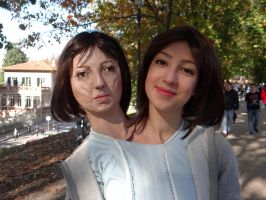 Bette and Dot (American Horror Story) Lucca Comics by Groucho91