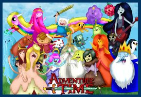 Adventure Time by Hotaru-oz