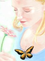 20050810 Girl and butterfly by manzo