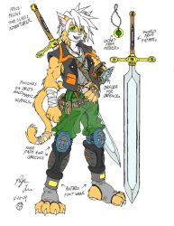 Furry Fantasy Cat by Roger-Lee
