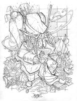 Commish 66 Mad Hatter by RobDuenas