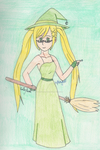 Nyo!APH - Green Witch by SwiftNinja91