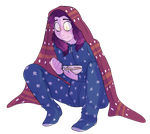 Sam In A Blankey by GraWolfQuinn