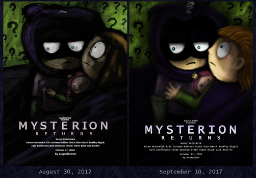 Redrawn Mysterion by nuttycoon