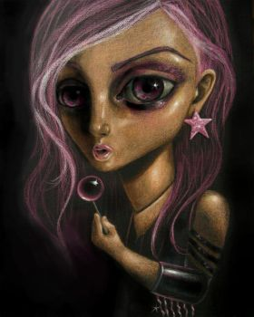 Lollipop Dolly by PaintWithBlood