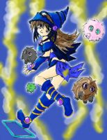 Magician Girl Color by green-recluse
