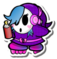 Shyanne (Paper Mario Fan Character) by DaShyster
