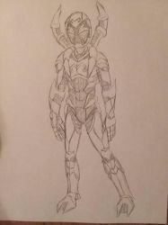 Blue Beetle design  by christheZfighter