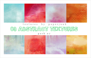 Textures Pack 07: Abstract by PaperJunk