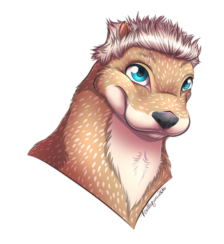 COMM: Otter (GuidedBomber) by Teallaquin