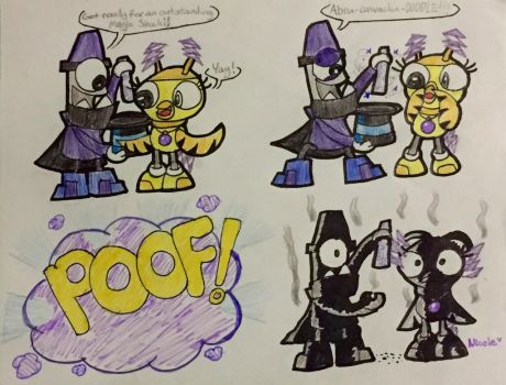 Magnifo's Magic Trick That Failed XD by BeansTheCat