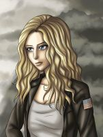 Clarke - The 100 by Yrya-chan