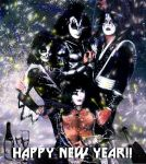 KISS New Year by MabMeddowsMercury