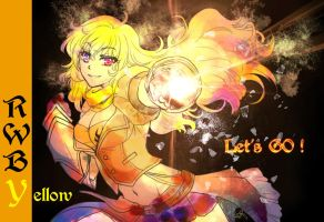 RWBY - Yellow - That's ROCK ! by steelgarden