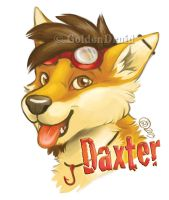Daxter Badge Commission by GoldenDruid