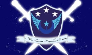 New Lunar Republic Army Flag by 1nfiltrait0rN7