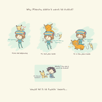 [POKEMON] Why pikachu doesn't want to evolve? by Hainoa