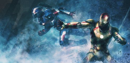 IRONMAN IRONPATRIOT by kakotomirai