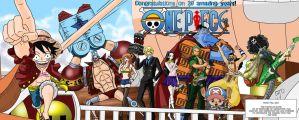One Piece 20 yrs by Imbriaart