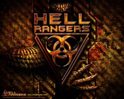 Hell Rangers Box Cover Art by Red-Rogers