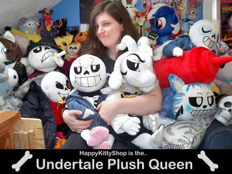 Undertale Plush Queen by HappyKittyPlushies