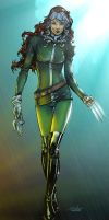 Rogue - intheswamp colors by SpiderGuile