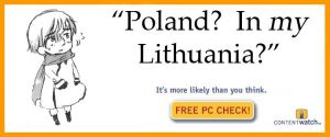 Poland?  In MY Lithuania? by TenorSaxLolita