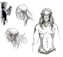 Zevran sketch by Marinelli