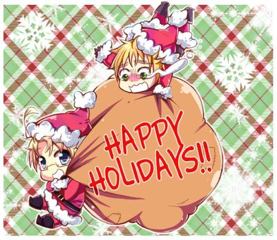 APH: Merry Christmas by m-miron