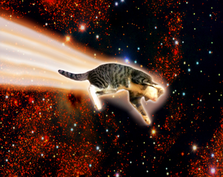 Comet by SpaceLaserCats