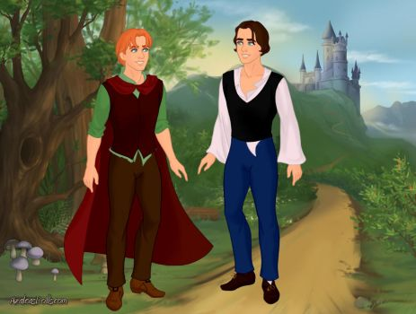 Fairytale Scene Maker: Philip and William by DragonWitch1469