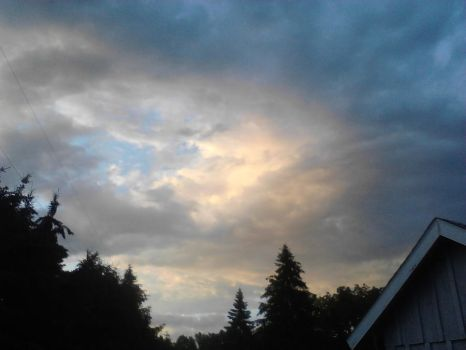 Peach Sky by Cloud-A-Day-Stock