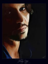 the utterly charming mr. depp by Ailidh