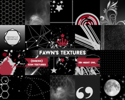 Icon Texture Pack #4: Night Owl by fawngeneva