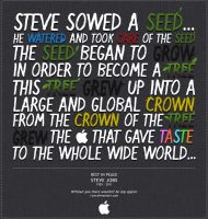Steve Jobs Tribute by wellgraphic