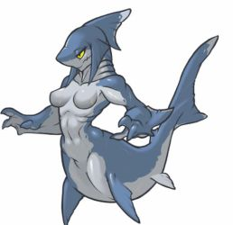 MonsterGirl_047 Sharkgirl by MuHut