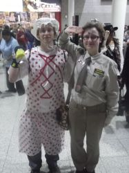 London MCM Expo - 2 Rimmers by DoctorWhoOne