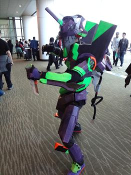 Sakuracon, Eva Unit 01 by Kelwick