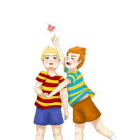 MOTHER 3 Butterfly by RewoundClockwork