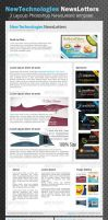 Professional E-newsletters by idesignstudio