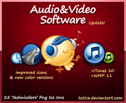 Audio and Video Players by tatice